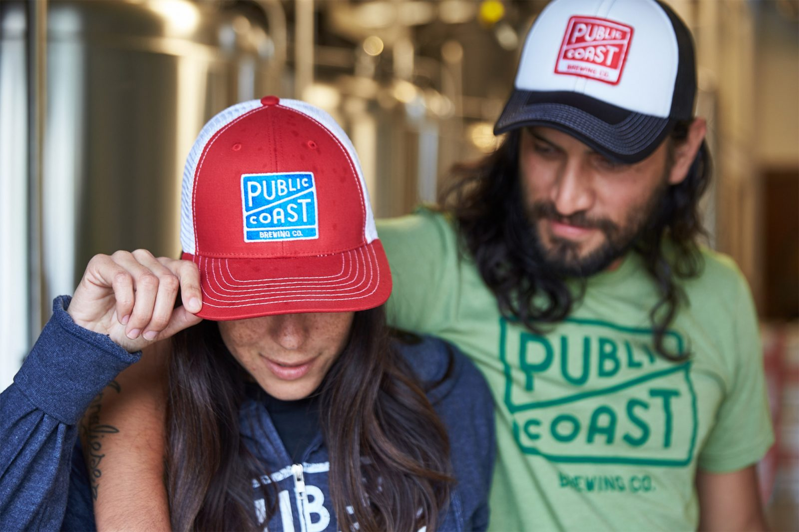 Public Coast Brewing Co. Hats