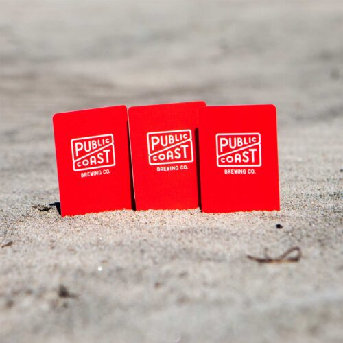 Public Coast Brewing Co. Gift Cards